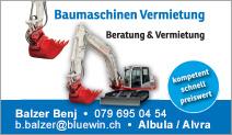 Balzer Baumaschinen Vermietung GmbH