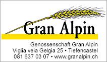 Genossenschaft Gran Alpin