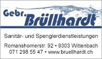 Gebrüder Brüllhardt AG