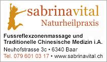 Sabrinavital Naturheilpraxis