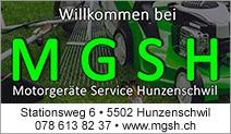 Motorgeräte Service Hunzenschwil