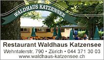 Restaurant Waldhaus Katzensee