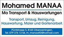 Mo Manaa Transport & Hauswartungen