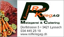 Rolf Krieg AG Metzgerei & Catering