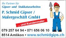 P. Schmid Gipser/Malergeschäft GmbH