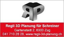Regli 3D Planung für Schreiner