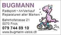 Bugmann Radsport, Velos u. Mofas