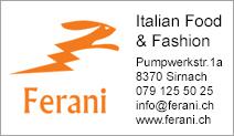 Ferani Italian Food & Fashion KlG