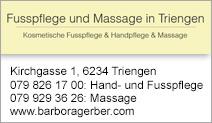 Fusspflege und Massage in Triengen