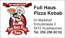 Full Haus Pizza Kebab