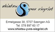 Shiatsu Yves Siegrist