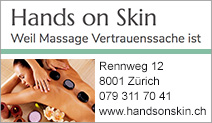 Hands on Skin