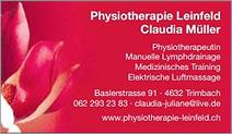 Physiotherapie Leinfeld
