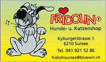 Hunde- und Katzenshop FRIDOLIN