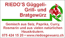 Riedo's Güggeli-Grill- und Bratgewürz