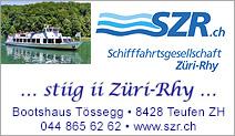 Schifffahrtsgesellschaft Züri - Rhy