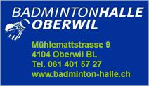 Badminton-Halle Oberwil