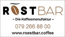 RÖSTBAR – die Kaffeemanufaktur