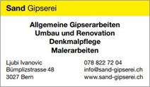 Sand Gipserei
