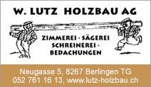 W. Lutz Holzbau AG