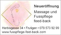 Massage und Fusspflege feet-back