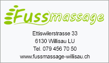 Fussmassage Willisau