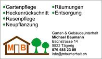 Garten- & Gebäudeunterhalt Michael Baumann