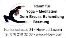 Raum für Yoga + Meditation