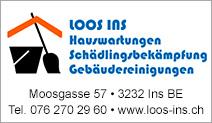 Loos Ins Gebäudereinigungen und Hauswartungen
