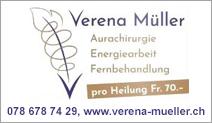 Verena Müller – Aurachirurgie-Energiearbeit-Fernbehandlung