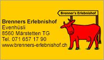 Brenners Erlebnishof Märstetten