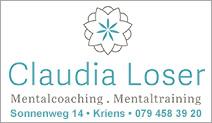 Claudia Loser Mentalcoaching & Mentaltraining