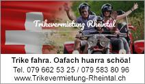 Trikevermietung Rheintal