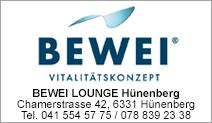 BEWEI LOUNGE Hünenberg
